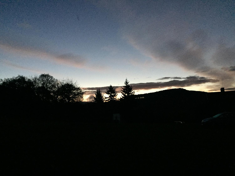 Őszi napkelte Ágasváron