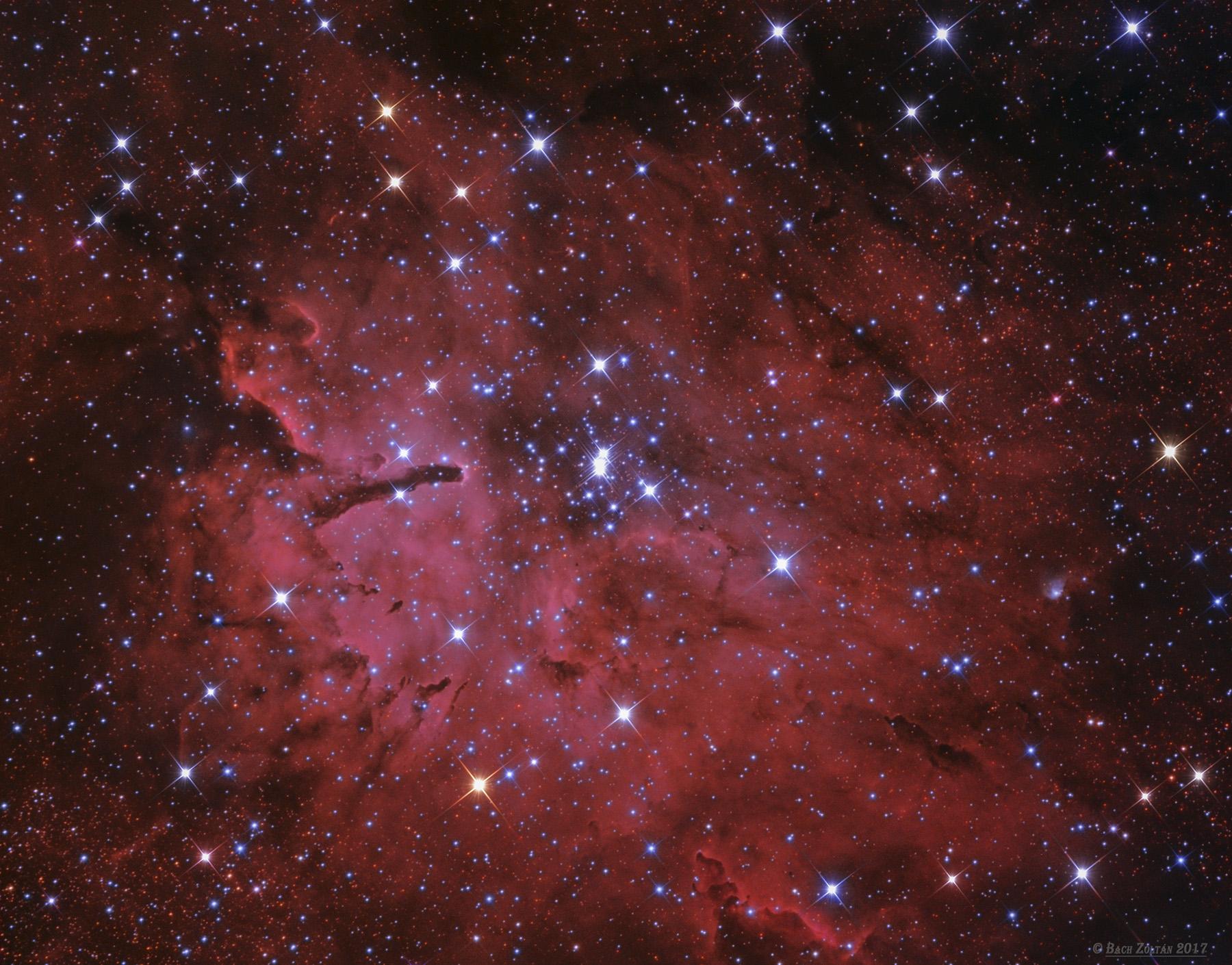 NGC 6823 és NGC 6820