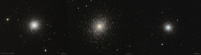 Messier gömbhalmazok