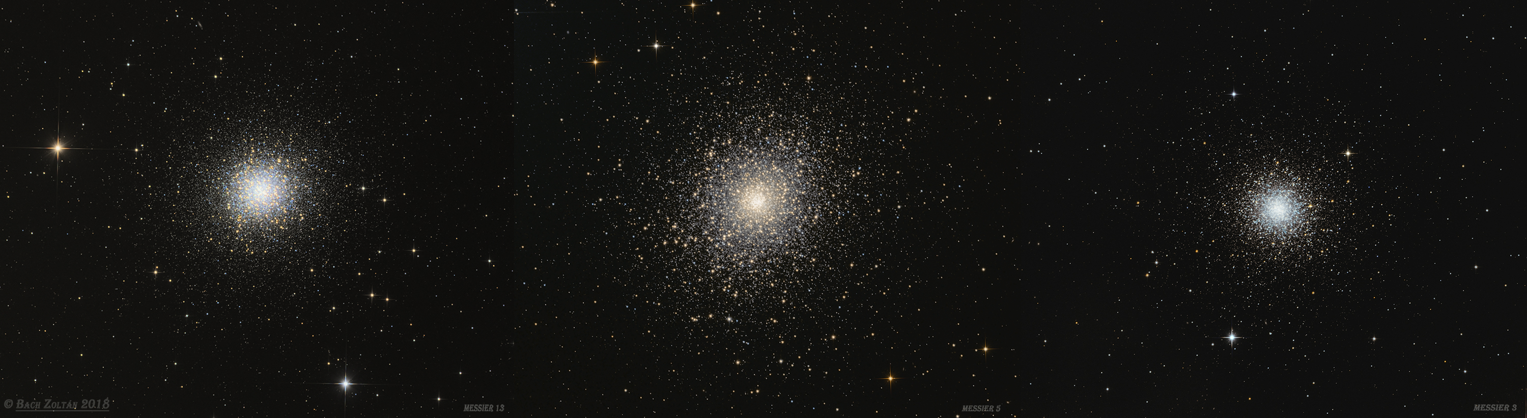 Messier globular clusrters
