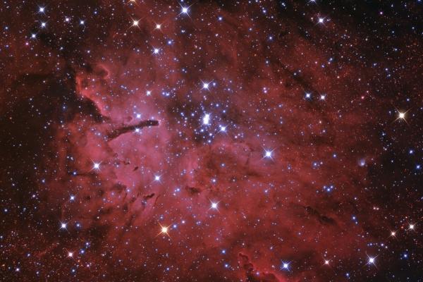 NGC 6823 and NGC 6820