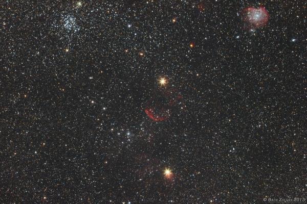 Majom fej, Medúza-köd, és M35