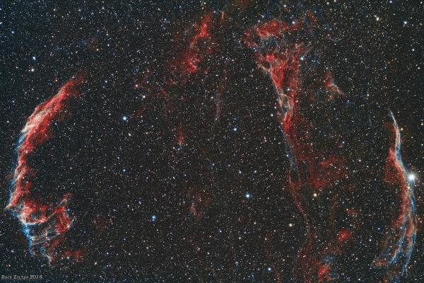 Veil Nebula region